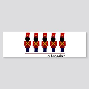 Nutcracker Soldiers Sticker (Bumper)