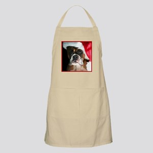 Christmas Boxer dog Apron