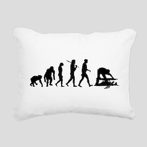 Archaeologist Rectangular Canvas Pillow