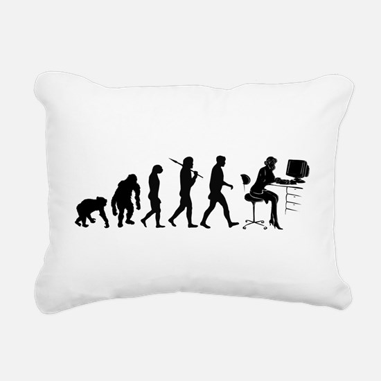 Business Woman Rectangular Canvas Pillow