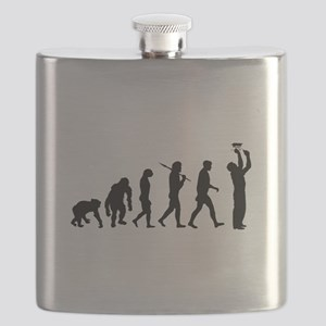 Electrician Sparky Flask