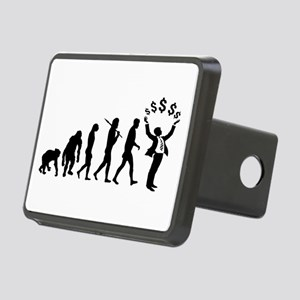 Finance Investing Banking Rectangular Hitch Cover
