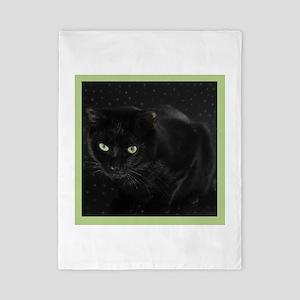 Mystical Black Cat Twin Duvet