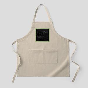 Mystical Black Cat Apron