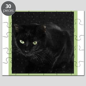 Mystical Black Cat Puzzle