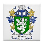 Hume Coat of Arms Tile Coaster