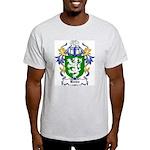 Hume Coat of Arms Ash Grey T-Shirt