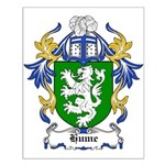 Hume Coat of Arms Small Poster