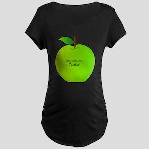 Inspirational Teacher Maternity Dark T-Shirt