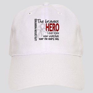 Bravest Hero I Knew Lung Cancer Cap