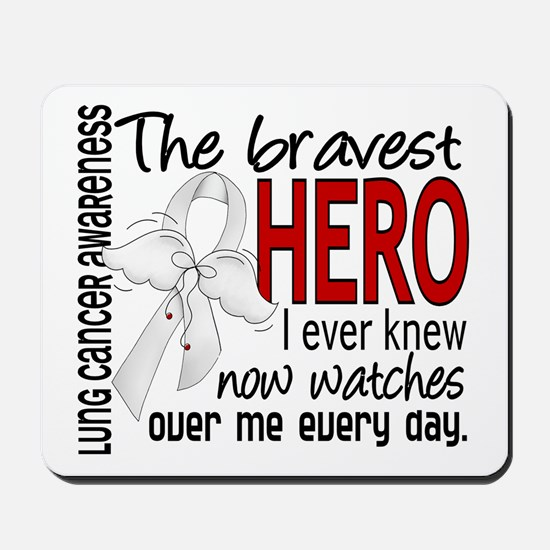 Bravest Hero I Knew Lung Cancer Mousepad