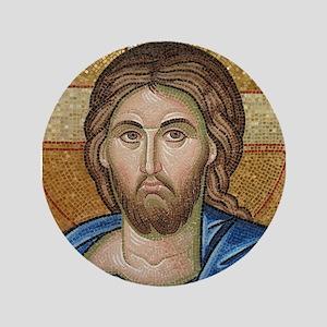 "Christ Jesus 3.5"" Button"