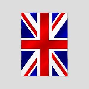 Union Jack UK Flag 5'x7'Area Rug