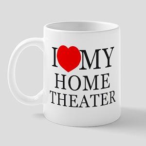 Home Theater Love Mug