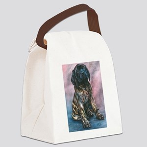 Julrees Ruby Cascade Canvas Lunch Bag