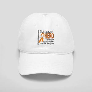 Bravest Hero I Knew Leukemia Cap