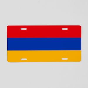 Flag of Armenia Aluminum License Plate