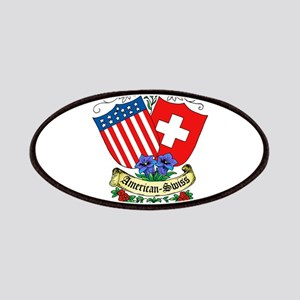 American Swiss Crest Patches