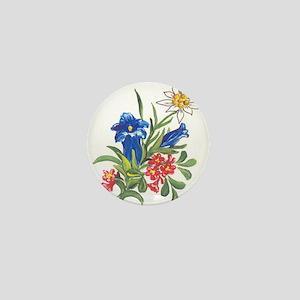 alpine-flowers3 Mini Button