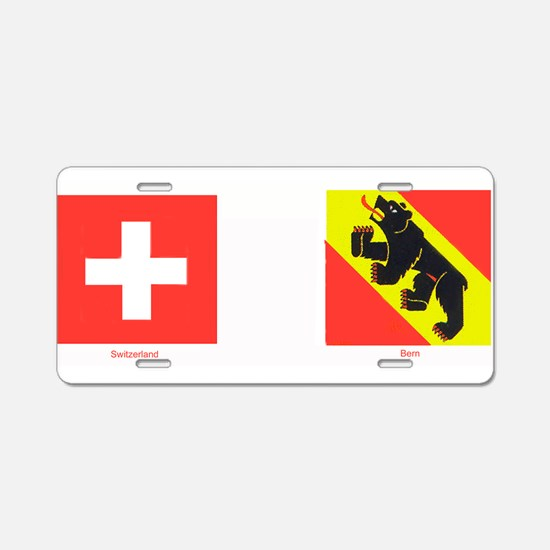 Swiss Cantons Aluminum License Plate