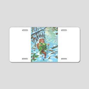 Jack in the Green Aluminum License Plate