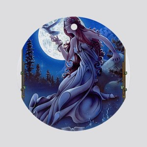 The Queen of Dreams Ornament (Round)