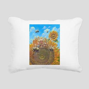 Bumble Fae Rectangular Canvas Pillow