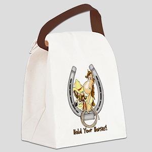 holdyourhorses Canvas Lunch Bag