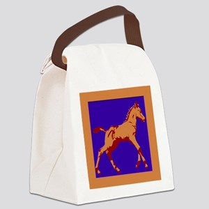 foal purp Canvas Lunch Bag
