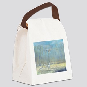 Misty Landing Canvas Lunch Bag
