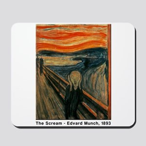 The Scream, Edvard Munch, Mousepad