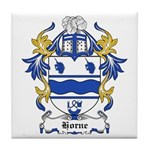 Horne Coat of Arms Tile Coaster