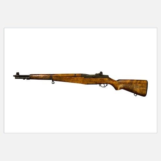 1930's era M1 Garand .30 caliber United States rif