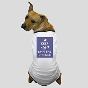 Keep Calm and Spin the Dreidel Dog T-Shirt
