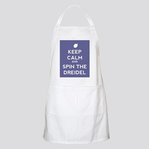 Keep Calm and Spin the Dreidel Apron