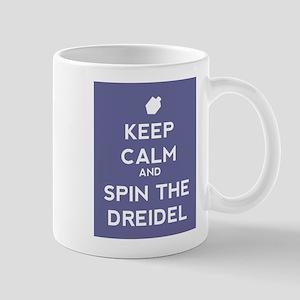 Keep Calm and Spin the Dreidel Mug