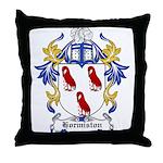 Hormiston Coat of Arms Throw Pillow