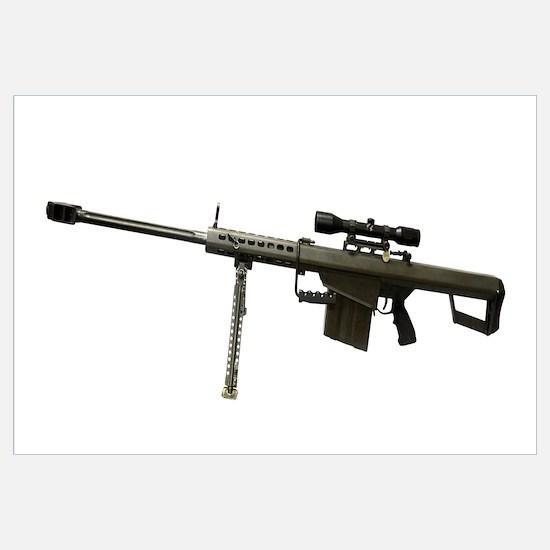 Barrett L82A1 Anti-Materiel Rifle