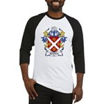 Hopkirk Coat of Arms Baseball Jersey