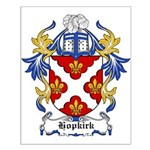 Hopkirk Coat of Arms Small Poster