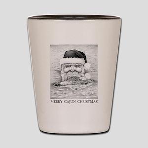 Cajun Santa Shot Glass