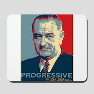 "LBJ - ""Progressive"" Mousepad"