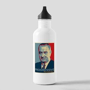 """LBJ - """"Progressive"""" Stainless Water Bottle 1.0L"""