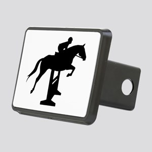Hunter Jumper Over Fences Rectangular Hitch Cover