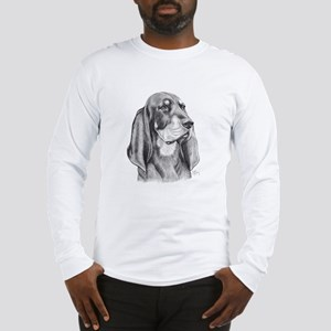 Black And Tan Coon Hound Long Sleeve T-Shirt