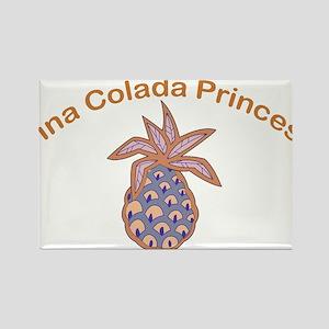 Pina Colada Princess Rectangle Magnet
