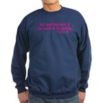 DicksCofHsPnk Sweatshirt (dark)