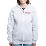 DicksCofHsPnk Women's Zip Hoodie