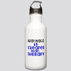 Krav Maga Is Cheaper T Stainless Water Bottle 1.0L