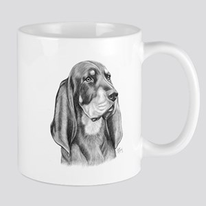 Black and Tan Coon Hound Mug